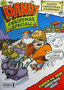 The Dandy 2011 Christmas issue cover