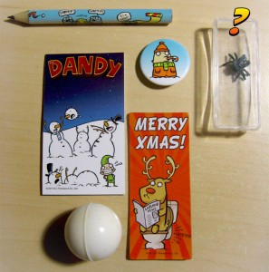The other six gifts from The Dandy