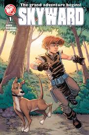 skyward issue 1 cover